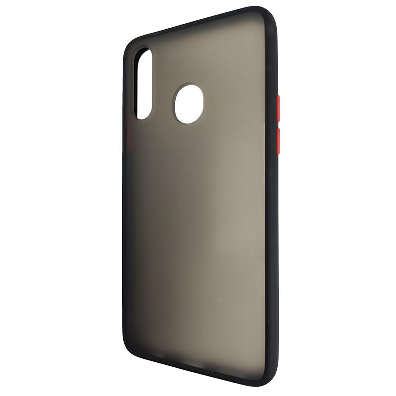 Чохол Totu Copy Gingle Series for Samsung A20S Black+Red - 3