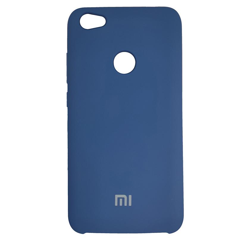 Чохол Silicone Case for Xiaomi Redmi Note 5A Cobalt Blue (40) - 1
