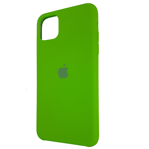 Чохол Copy Silicone Case iPhone 11 Green (31) - 2