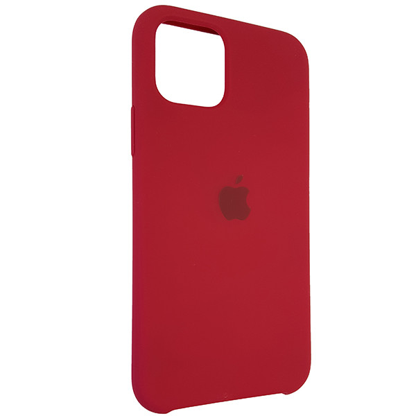 Чохол Copy Silicone Case iPhone 11 Pro Rose Red (36) - 1