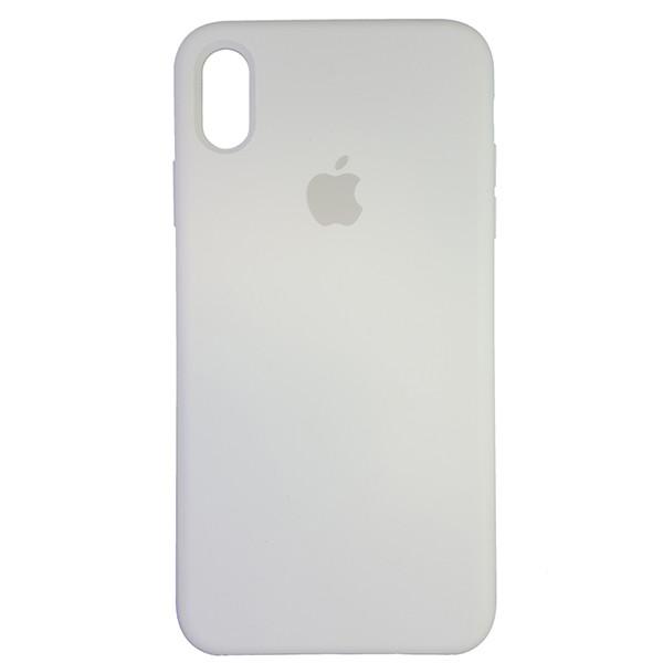 Чехол Copy Silicone Case iPhone XS Max White (9) - 3
