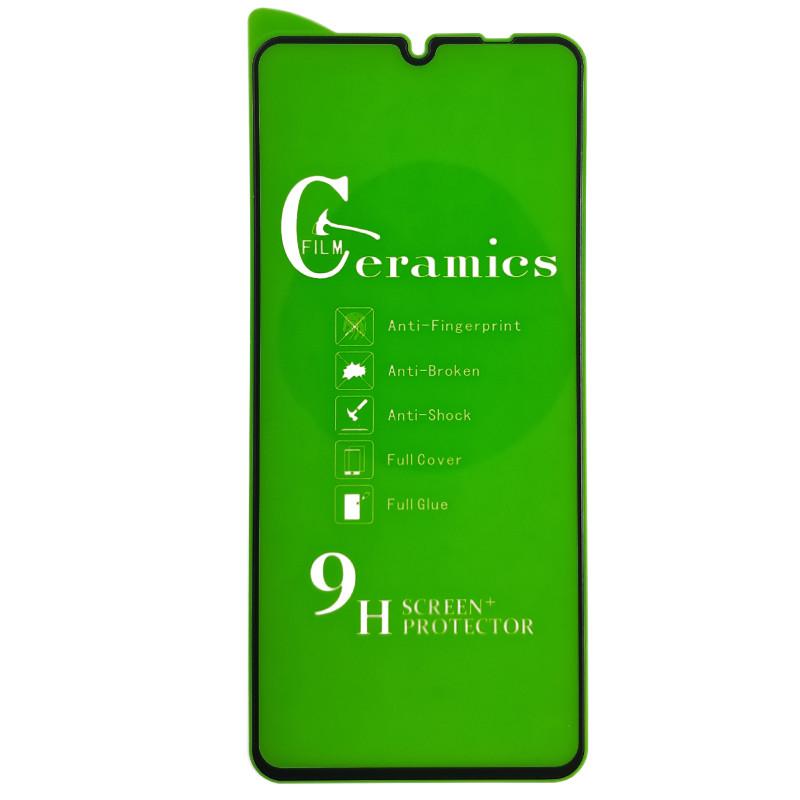 Захисна плівка Exclusive для Samsung A31 - (0,2 mm) Ceramica Black - 1
