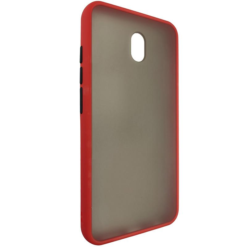 Чохол Totu Copy Gingle Series for Xiaomi redmi 8A Red+Black - 1