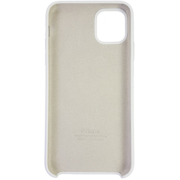 Чехол Copy Silicone Case iPhone 11 Pro Max White (9) - 4