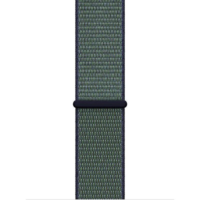 Ремінець для Apple Watch (42-44mm) Sport Loop Nike Mint/Black - 1