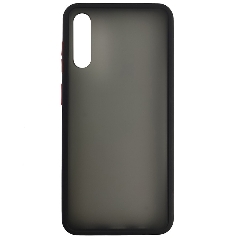 Чохол Totu Copy Gingle Series for Samsung A30S/A50 Black+Red - 2