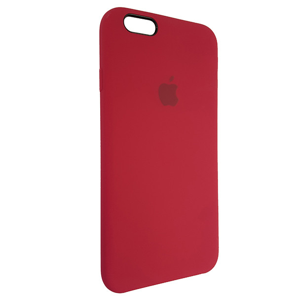 Чохол Copy Silicone Case iPhone 6 Rose Red (36) - 1