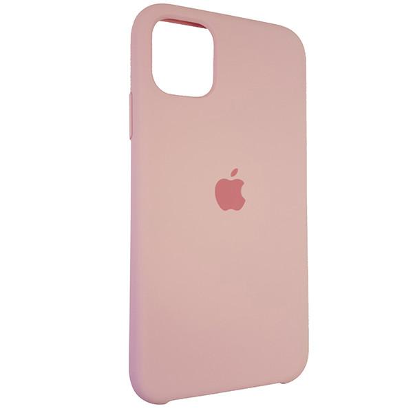 Чохол Copy Silicone Case iPhone 11 Light Pink (6) - 1