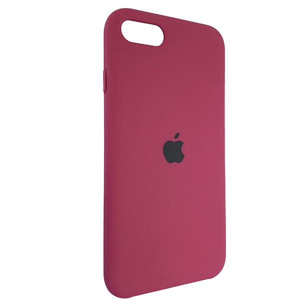 Чохол Copy Silicone Case iPhone SE 2020 Bordo (52) - 1