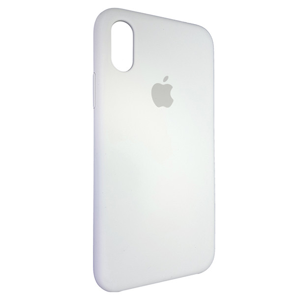 Чохол Copy Silicone Case iPhone X/XS White (9) - 1