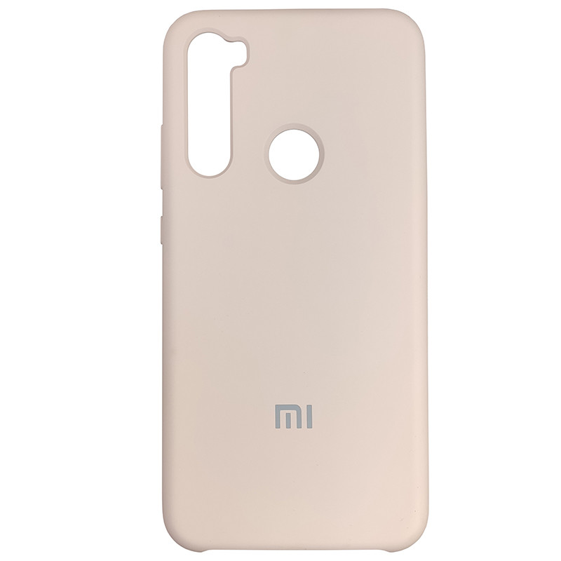 Чохол Silicone Case for Xiaomi Redmi Note 8 Sand Pink (19) - 1
