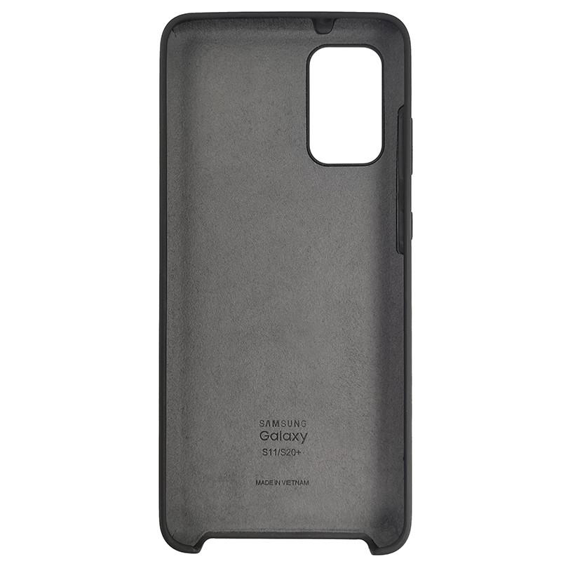 Чохол Silicone Case for Samsung S20 Plus Black (18) - 3