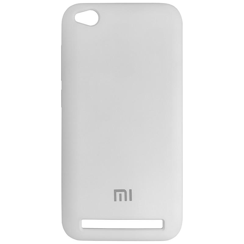 Чехол Silicone Case for Xiaomi Redmi 5A White (9) - 1