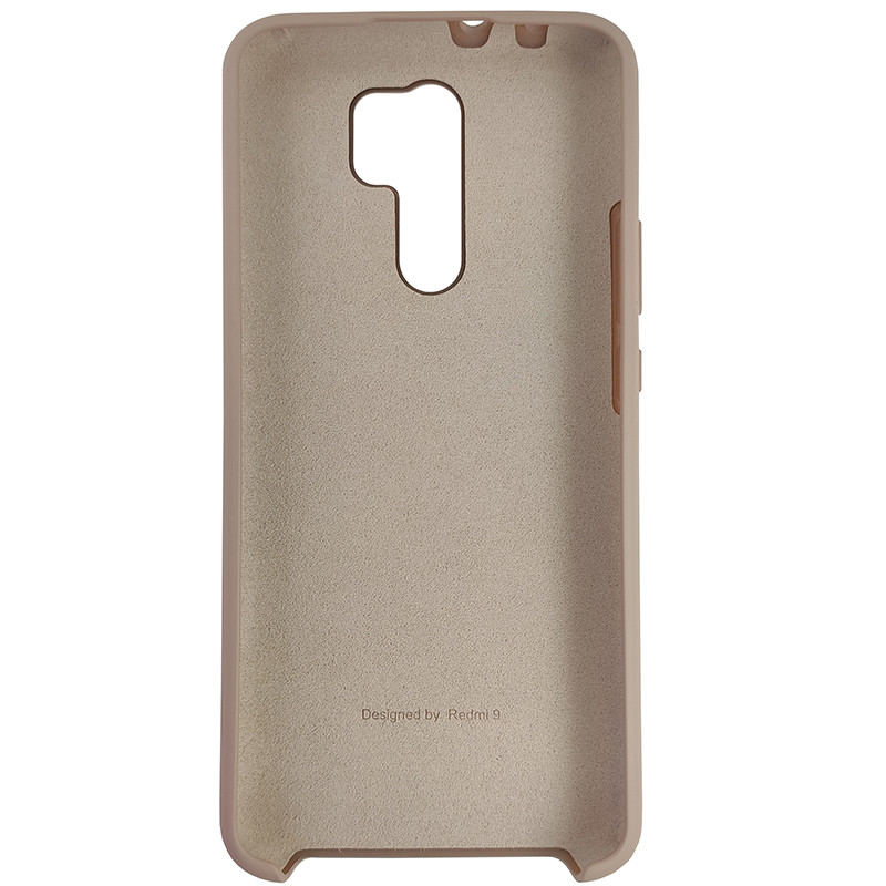 Чохол Silicone Case for Xiaomi Redmi 9 Sand Pink (19) - 3