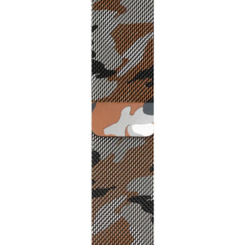 Ремінець для Apple Watch (38-40mm) Milanese Camo Brown - 1