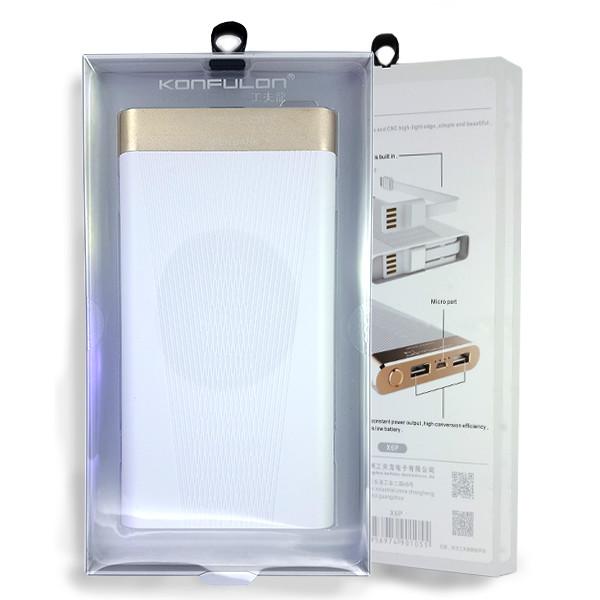 Power Bank Konfulon X6P 10000 mAh White - 5