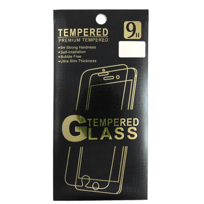 Захисне скло (техпак) 2.5D iPhone X (0.26mm) - 1