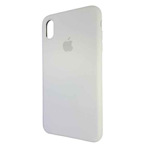 Чехол Copy Silicone Case iPhone XS Max White (9) - 2