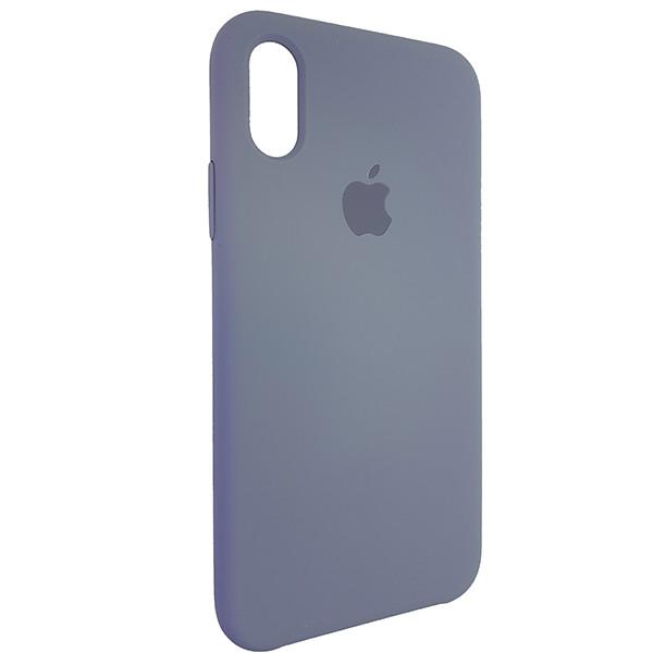 Чохол Copy Silicone Case iPhone X/XS Gray (46) - 1