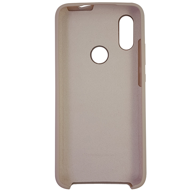 Чохол Silicone Case for Xiaomi Redmi 7 Sand Pink (19) - 3