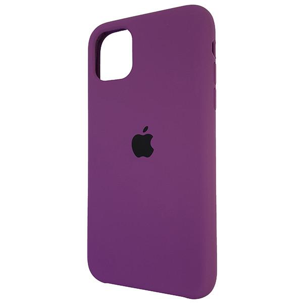 Чехол Copy Silicone Case iPhone 11 Pro Purpule (45) - 2