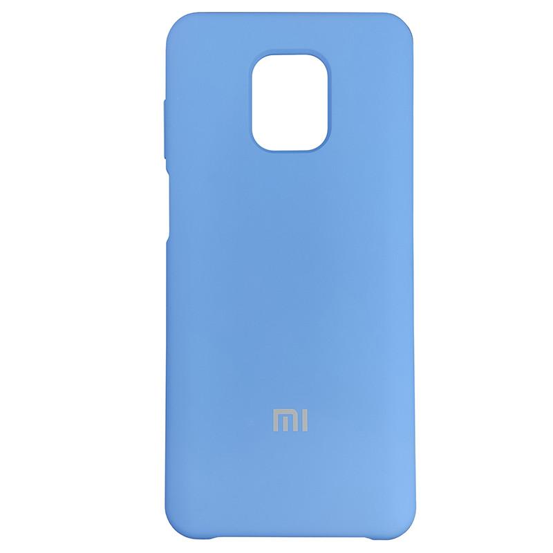 Чохол Silicone Case for Xiaomi Redmi Note 9S/9 Pro Blue (3) - 1