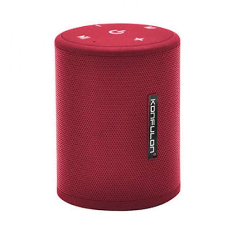 Портативна колонка Konfulon K16 + Micro Red - 1