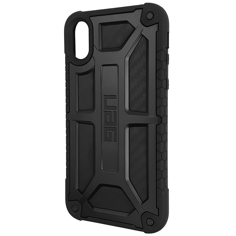Чохол UAG Monarch iPhone X/XS Black (HC) - 1