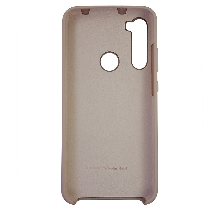 Чохол Silicone Case for Xiaomi Redmi Note 8 Sand Pink (19) - 3