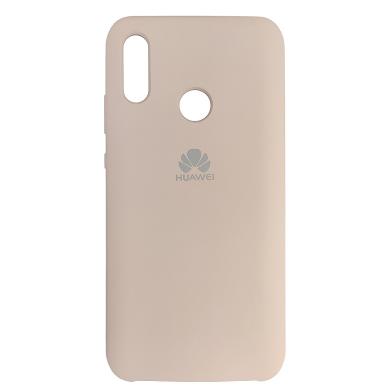 Silicone Case for Huawei PSmart 2019 Sand Pink (19) - 1
