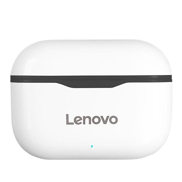 Безпровідна гарнітура Lenovo LP1 White/Black - 5
