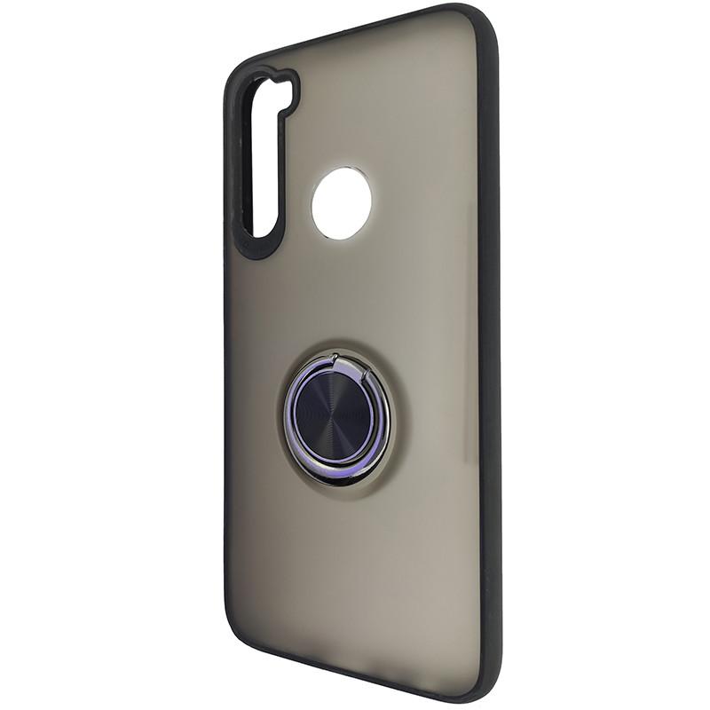 Чохол Totu Copy Ring Case Xiaomi Redmi Note 8 Black+Red - 3