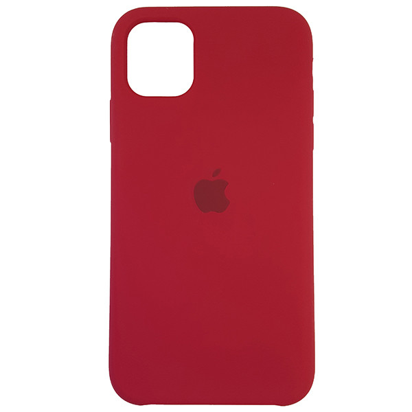 Чохол Copy Silicone Case iPhone 11 Rose Red (36) - 3