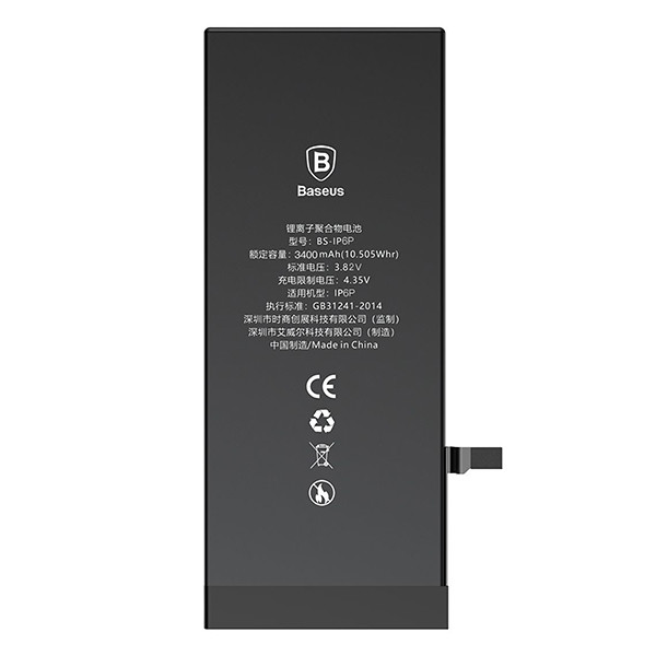 Акумулятор Baseus iPhone 6P (3400 mAh) High capacity - 1