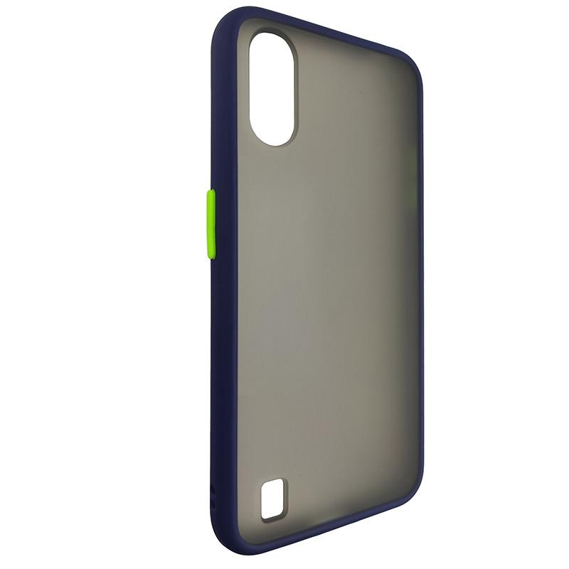 Чохол Totu Copy Gingle Series for Samsung A01 (A015) Blue+Light Green - 1