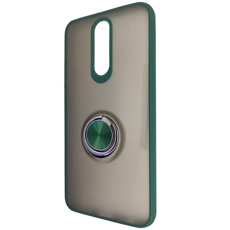 Чохол Totu Copy Ring Case Xiaomi Redmi 8/8A Green+Black - 3