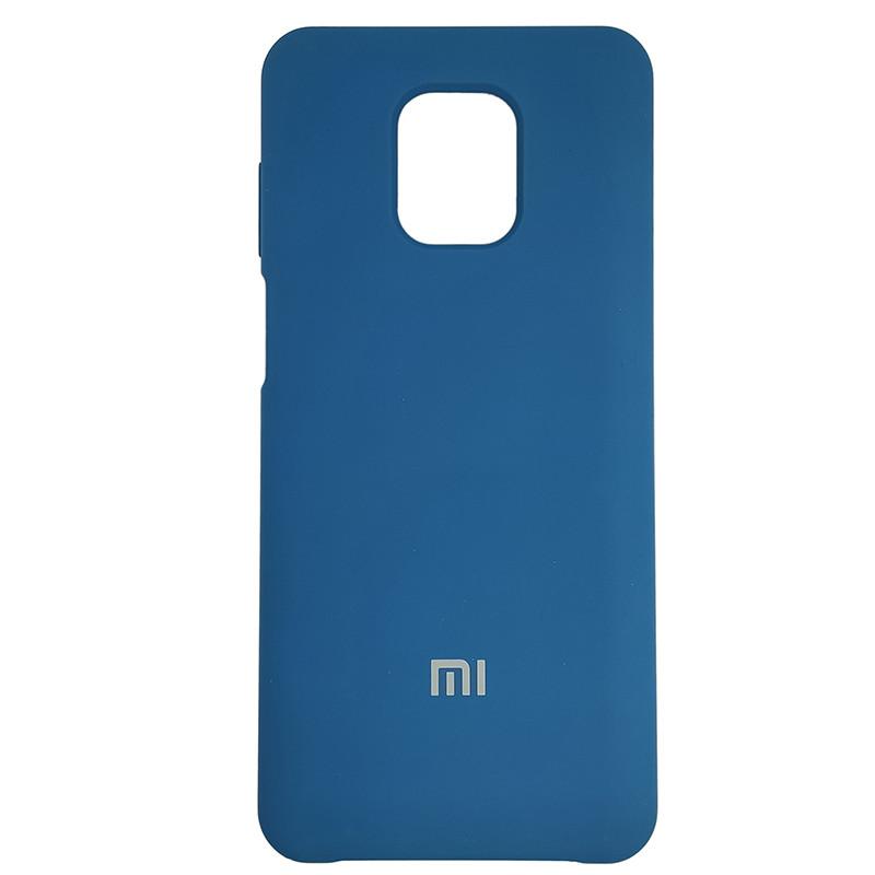 Чохол Silicone Case for Xiaomi Redmi Note 9S/9 Pro Cobalt Blue (40) - 1
