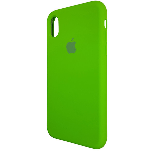 Чохол Copy Silicone Case iPhone XR Green (31) - 2