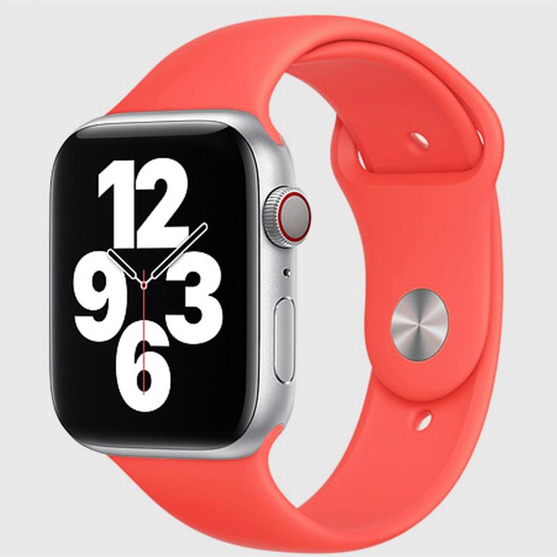 Ремінець для Apple Watch (42-44mm) Sport Band Imperial Red (29)  - 2