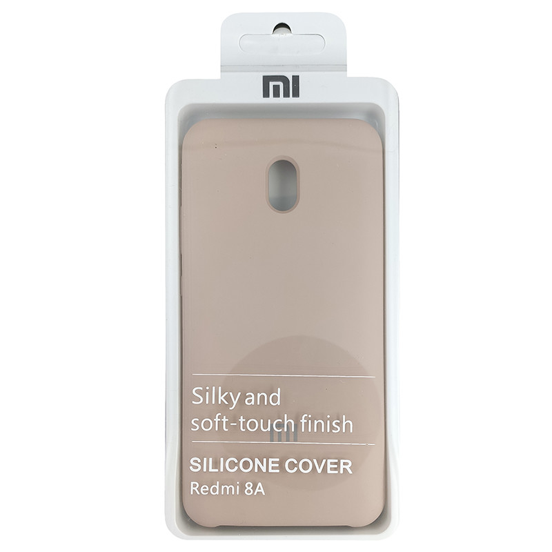 Чохол Silicone Case for Xiaomi Redmi 8A Sand Pink (19) - 4