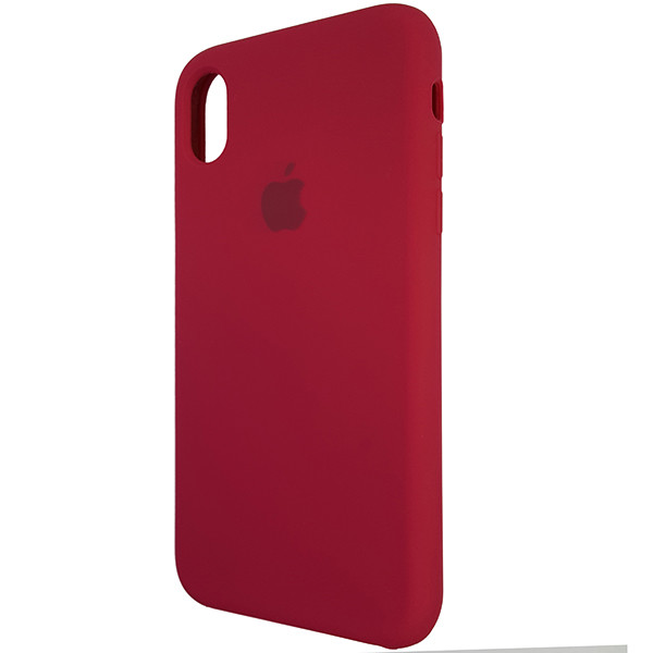 Чохол Copy Silicone Case iPhone XR Rose Red (36) - 2