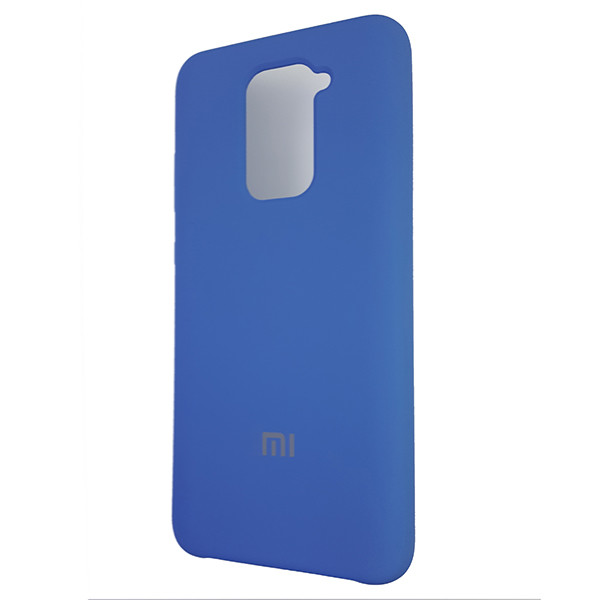 Чохол Silicone Case for Xiaomi Redmi Note 9 Blue (3) - 1