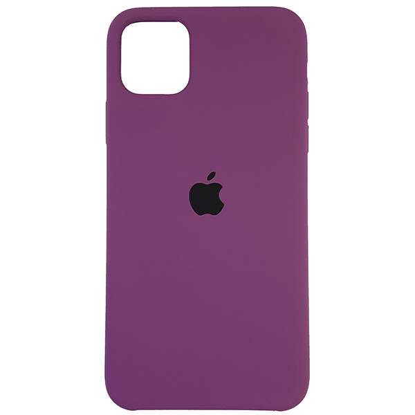 Чохол Copy Silicone Case iPhone 11 Pro Max Purpule (45) - 3