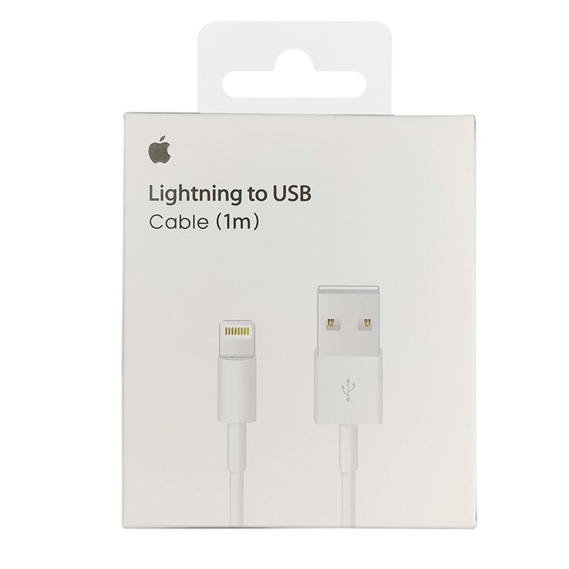 Кабель Apple Lightning 1m, (MD818ZM/A), White - 3