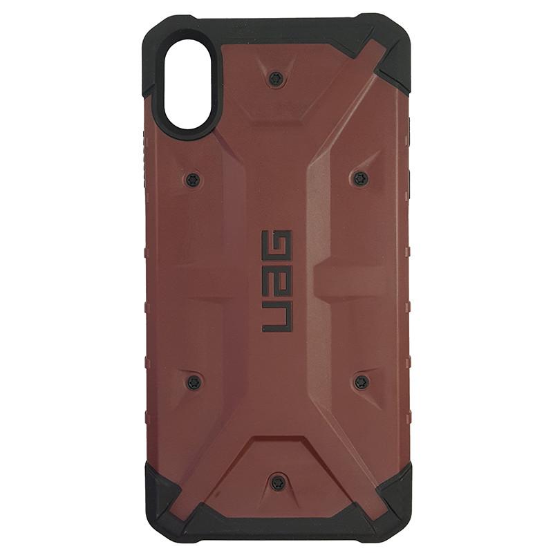 Чохол UAG Pathfinder iPhone XS Max Wine Red (HC) - 3
