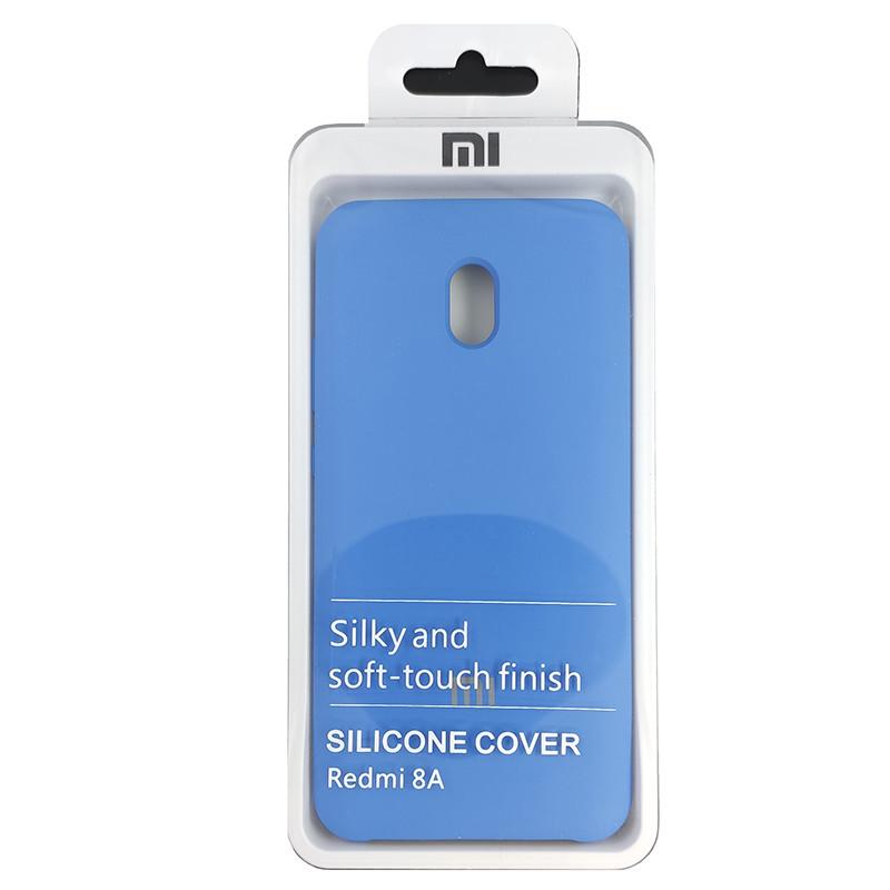 Чехол Silicone Case for Xiaomi Redmi 8A Blue (3) - 4