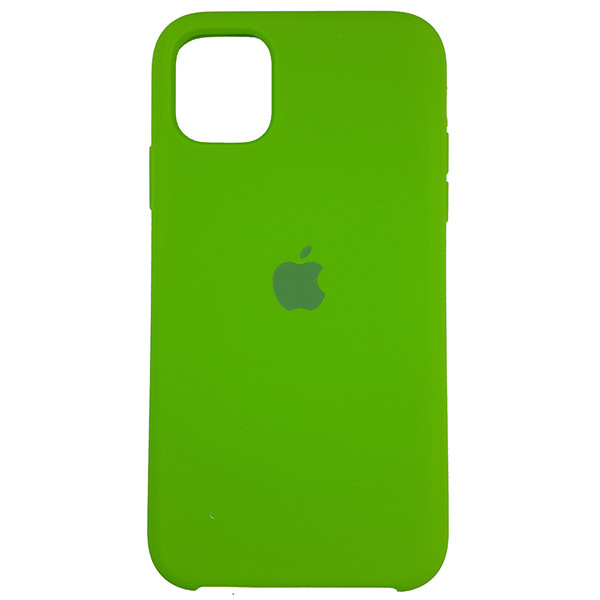 Чохол Copy Silicone Case iPhone 11 Pro Green (31) - 3