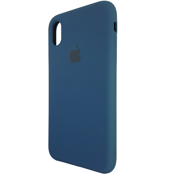 Чохол Copy Silicone Case iPhone XR Cosmos Blue (35) - 2