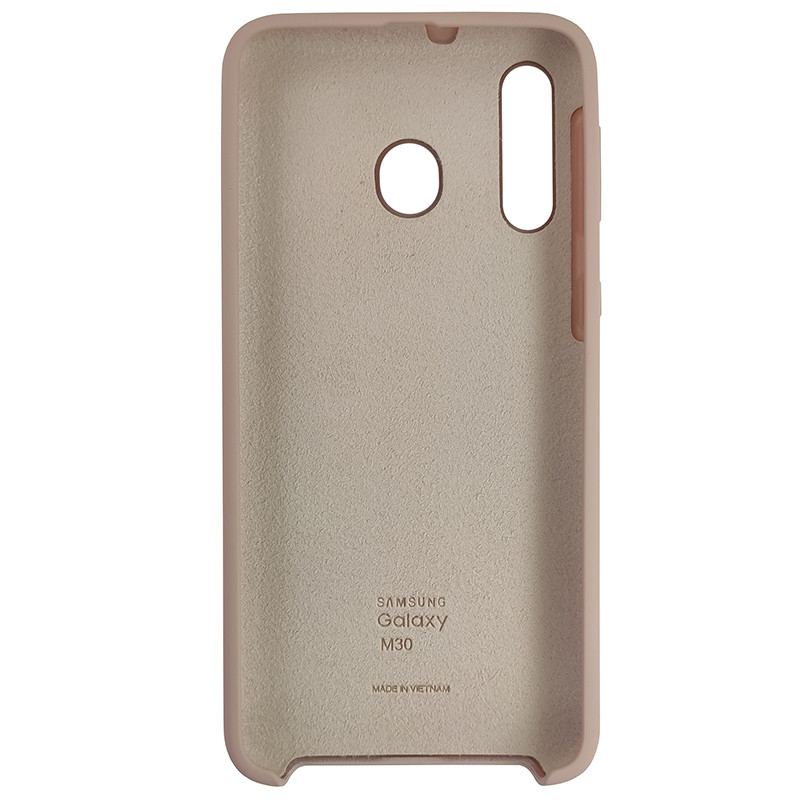 Чохол Silicone Case for Samsung M30 Sand Pink (19) - 3