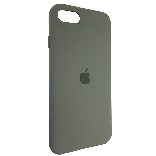 Чохол Copy Silicone Case iPhone SE 2020 Dark Olive (34) - 1